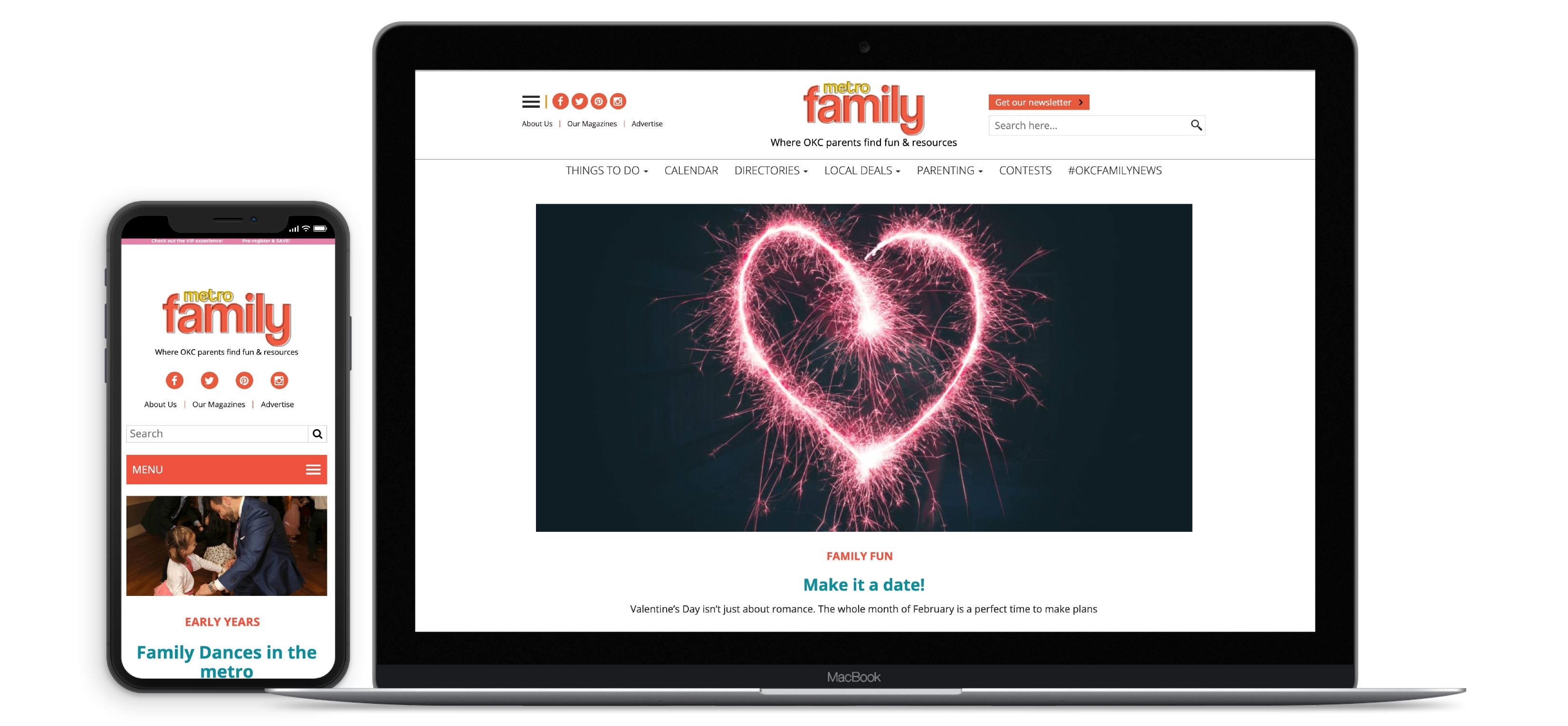 Metro Family Magazine - Case Study